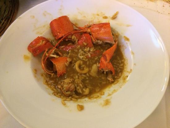 Restaurant Can Joan: arroz con bogavante