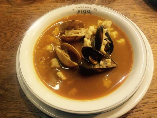 Sopa de pescado y marisco buen sima picture of la - Sopa de marisco y pescado ...
