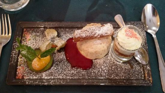 Hotel le Lion d'Or: Dessert du menu à 28€