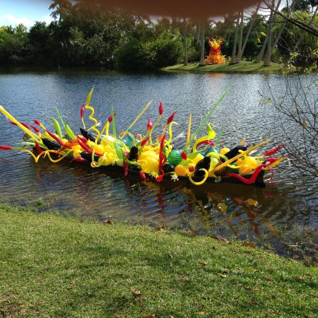 Chihuly afloat picture of fairchild tropical botanic - Fairchild tropical botanic garden ...