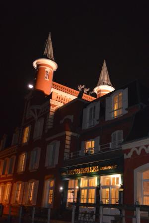Les Tourelles : Eclairge nocturne
