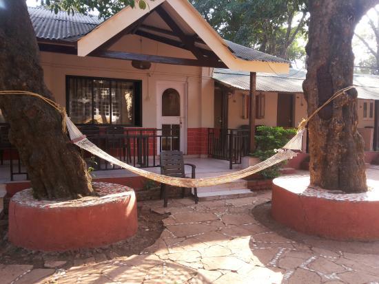 Premdeep Hotel: hammocks