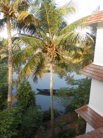 Shravanam Greens : view from the balcony