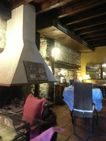 Restaurante Caldea : comedor
