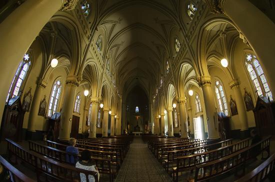 Catedral de San Isidro: Vista desde la entrada