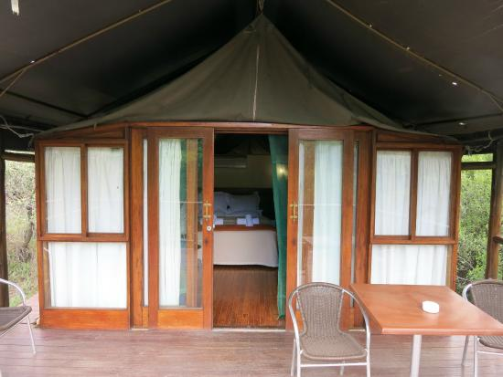 Inkwenkwezi Private Game Reserve Safari Lodge: Unsere Unterkunft