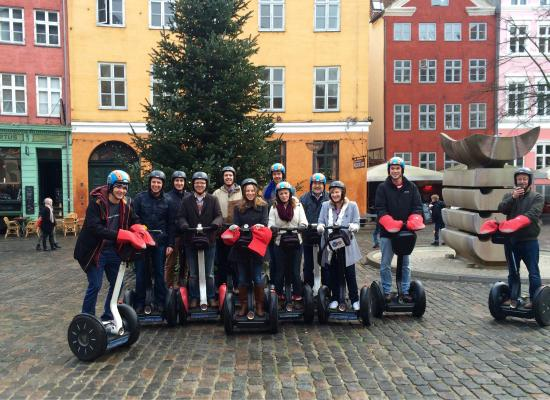Segway Tours Copenhagen: The ForrestBrown team on our Segway tour of Copenhagen. An awesome day!