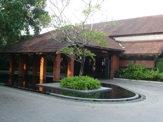 Alila Diwa Goa: Hotel Entrance