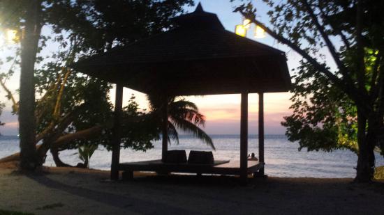 Gajapuri Resort & Spa: Prachtige zonsondergangen