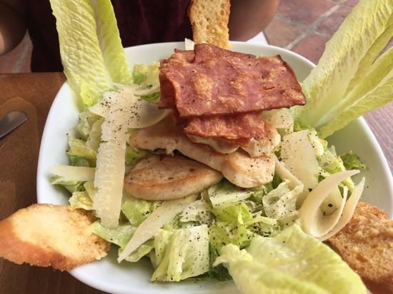 Arte Cafe: Chicken Caeser Salad