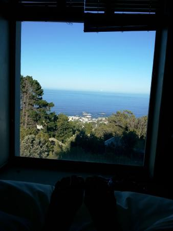 Ezard House: the view from my bed