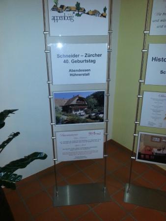 Zaziwil, Svizzera: Reservation im Hühnerstall