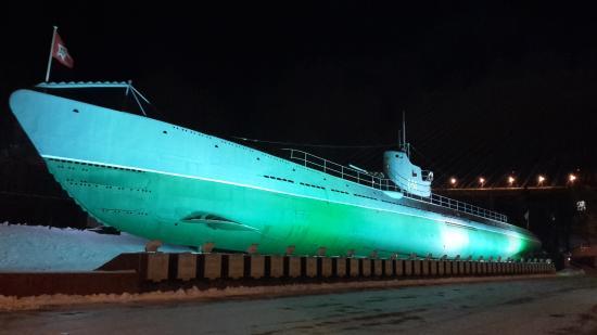 фото подводная владивосток лодка с-56