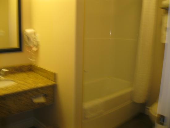 Chateau Nova Yellowhead : Bathroom- this one had a bathtub
