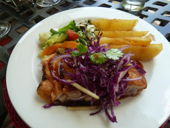 Flavours Restaurant: Pork Belly - heavenly