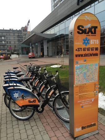 Easiest way to rent Sixt bike - use nextbike app (download