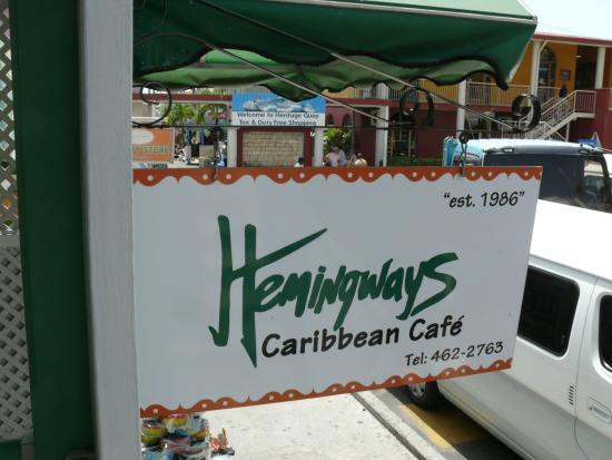 Hemingways Caribbean Cafe : Hemingway's