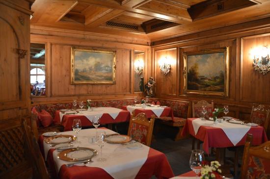 Alpenhof Grainau: la salle de restaurant
