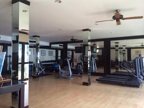 Well Equipped Gymnasium With Beach View Picture Of Spa Village Resort Tembok Bali Tejakula Tripadvisor