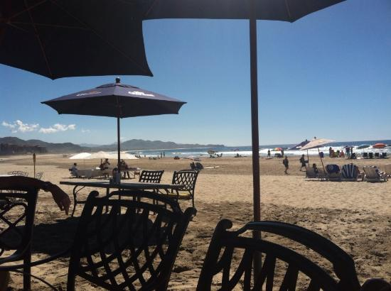 Playa Los Cerritos: View from the restaurant
