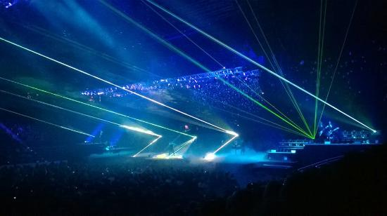 Tso Concert From Section 107 Row 9 Seat 15 Picture Of