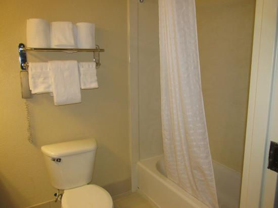 Country Inn & Suites By Radisson, Houston Intercontinental Airport East : Das Bad mit Badewanne