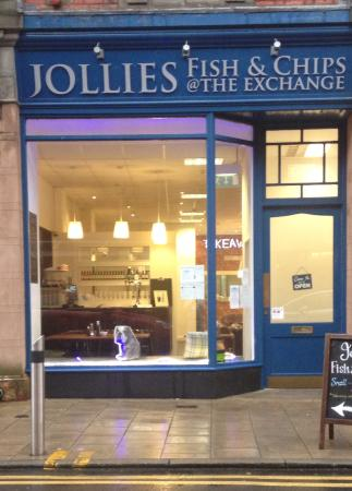 Jollies at the Exchange