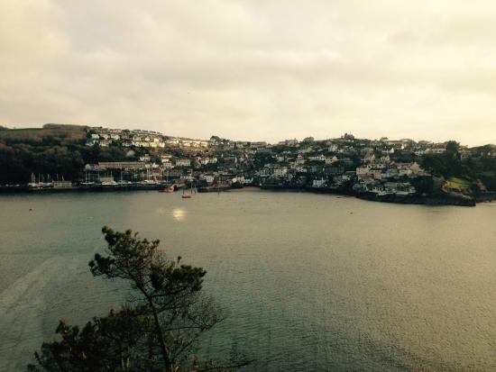 The Fowey Hotel: View from room