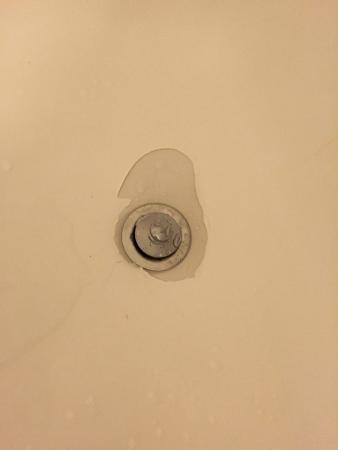 Hilton Dallas Park Cities: The bathtub drain and the black mold.