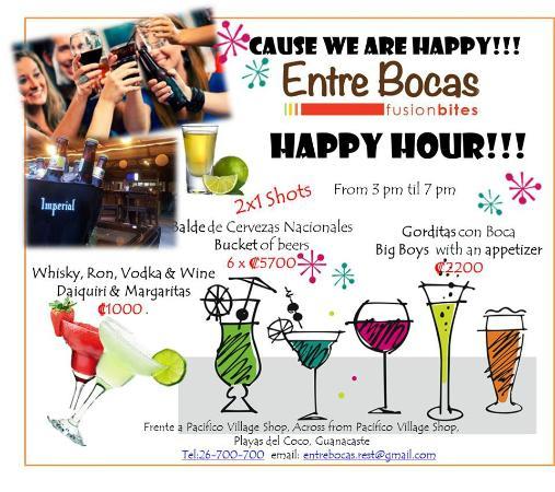 Entre Bocas Fusion Bites: Cos´ we are happy!!