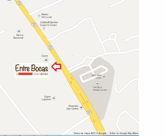 Entre Bocas Fusion Bites: We are here!! Estamos aquí!!!