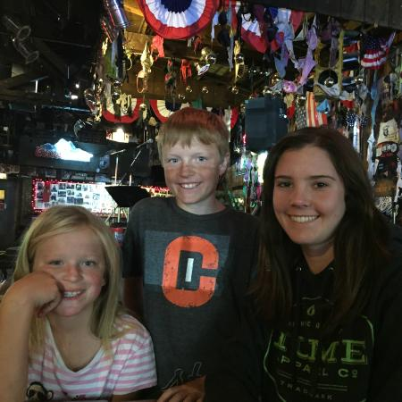 Little Bear Saloon and Restaurant: Fun times at Little Bear after Soccer Game