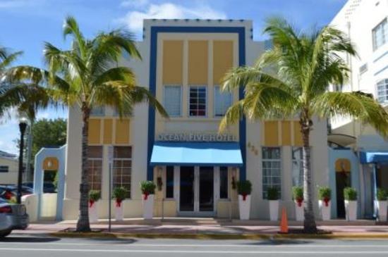 Hotel Ocean Five Miami Beach Tripadvisor