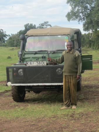 Governor's Camp: our AMAZING guide/driver