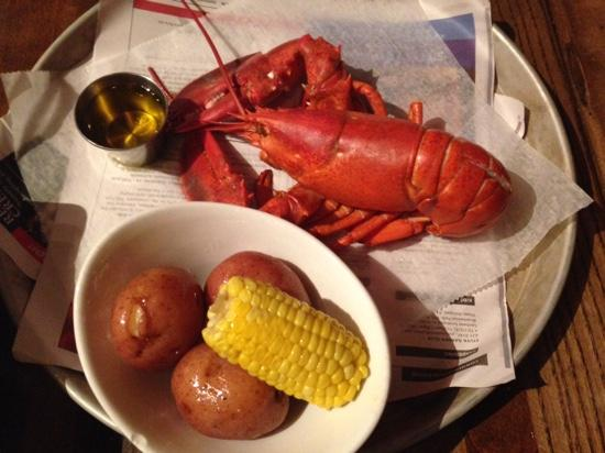 The Lobster Trap : Wicked Good Lobster, potatoes and corn