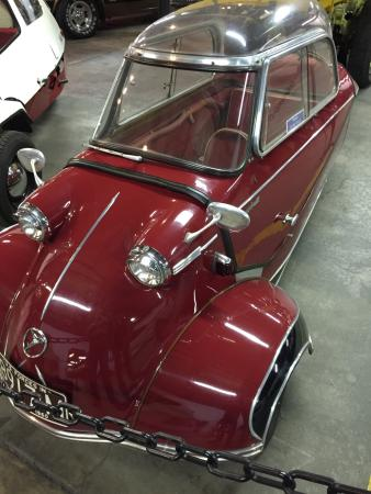 Forney Museum of Transportation : Messerschmidt coupe