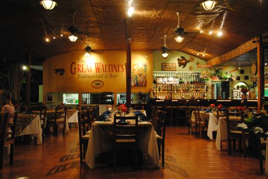 The Great Waltini's: The Restaurant