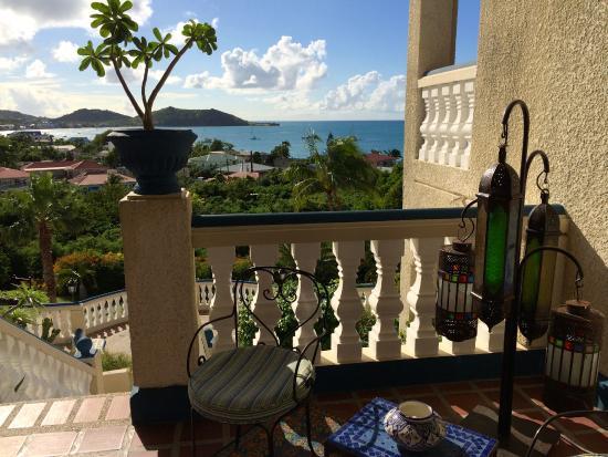 Hotel L'Esplanade: View from Reception