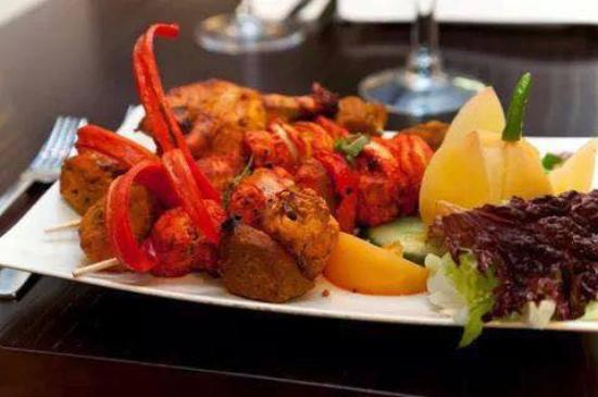 Oran Tandoori: Our Special Chicken Shashlik Kebab