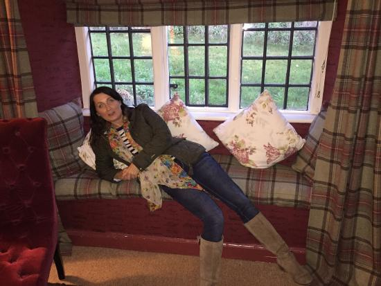 Hambro Arms: Lady of leisure taking life easy in the 'Kings Suite'