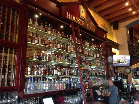 The bar picture of rock 39 n fish manhattan beach for Rock n fish manhattan beach