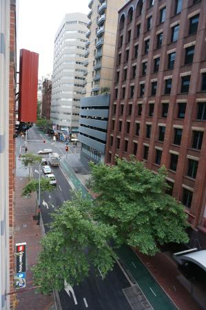 Mantra on Kent : View from Rm 701 balcony looking towards Market St