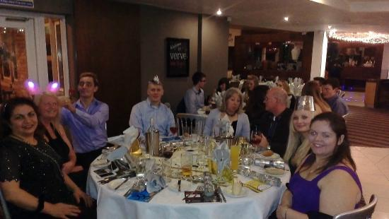 Village Hotel Maidstone: Before the food arrived