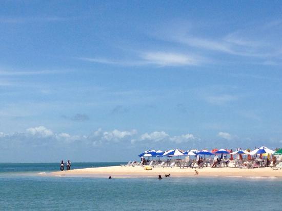 Halai Pousada e Restaurante : La spiaggia da sogno