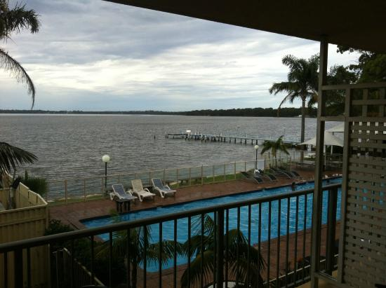 The Beachcomber Hotel : The view