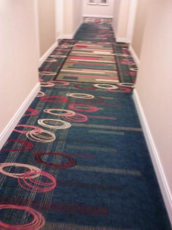 Atlanta Airport Marriott Gateway: Hotel Hallway