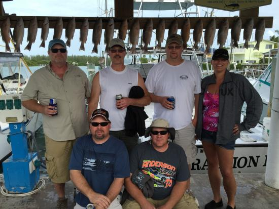 Main Attraction Charter Fishing: Our catch...