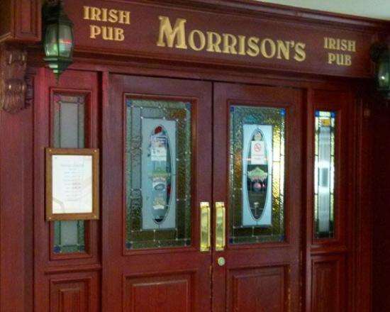 Morrisonu0027s Irish Pub Front door to Morrisonu0027s & Front door to Morrisonu0027s - Picture of Morrisonu0027s Irish Pub ...