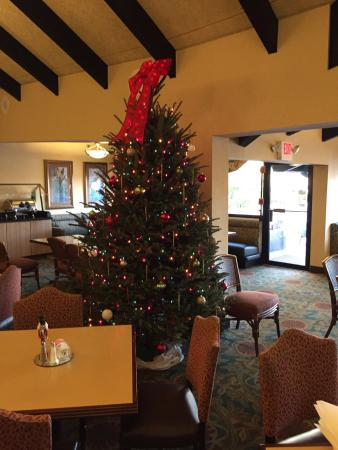 Aku Tiki Traders Restaurant: Trader's 2014 Christmas tree - well done!