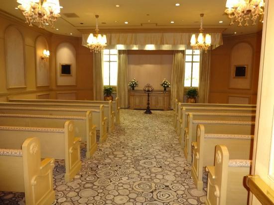 Bellagio Wedding Chapels Interior Pequena Mas Requintada